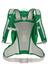 VAUDE Cluster 10+3 - Mochila bicicleta - verde